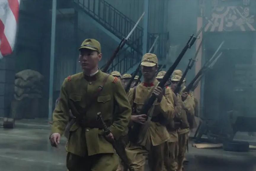 Scars of Nanking Trailer <br />A+E / Jiangsu EP: Frederick Rendina